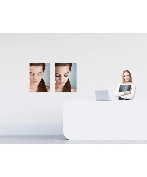 Plakat für Wimpernverlängerung