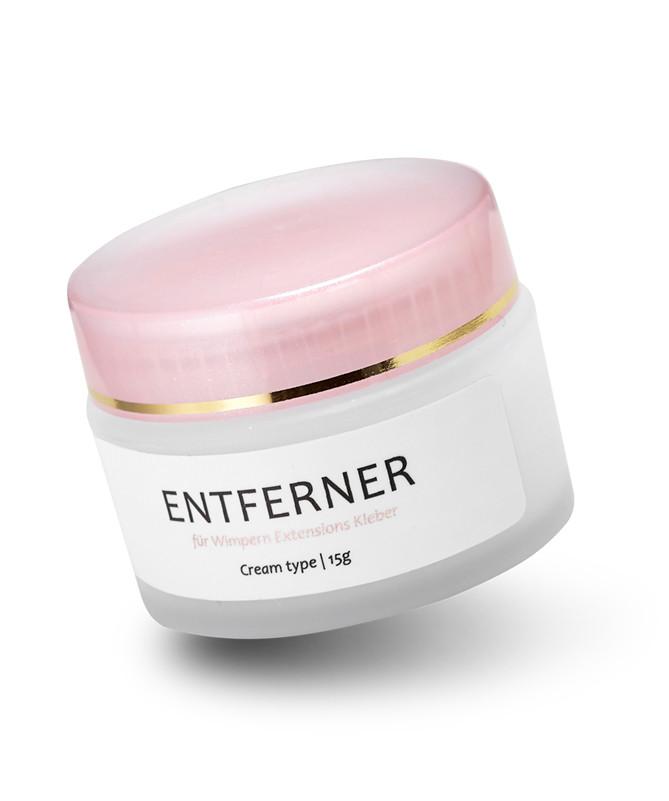 Wimpern Extensions Entferner Cream